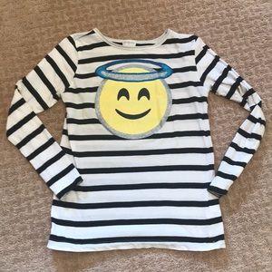 Crewcuts Angel Emoji shirt! VGUC!
